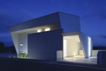 I-House exterior lighting