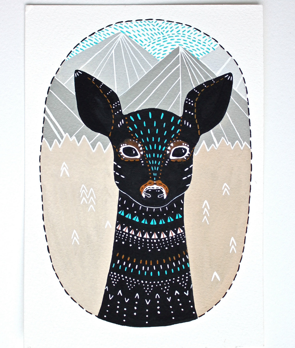 Deer Illustration 1